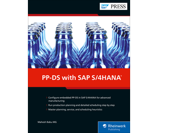 Cover von PP-DS with SAP S/4HANA