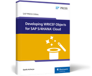 Cover of Developing WRICEF Objects for SAP S/4HANA Cloud