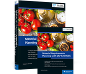 Cover von Material Requirements Planning with SAP S/4HANA