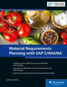 Cover of Material Requirements Planning with SAP S/4HANA