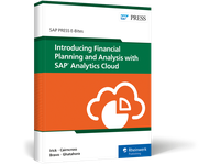 Cover von Introducing Financial Planning and Analysis with SAP Analytics Cloud
