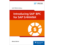Cover of Introducing SAP BPC for SAP S/4HANA
