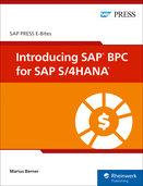 Cover von Introducing SAP BPC for SAP S/4HANA