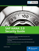 Cover of SAP HANA 2.0 Security Guide
