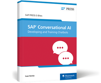 Cover von SAP Conversational AI: Developing and Training Chatbots