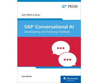 Cover of SAP Conversational AI: Developing and Training Chatbots