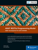 Cover of ABAP RESTful Programming Model
