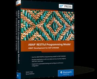 Cover of ABAP RESTful Programming Model