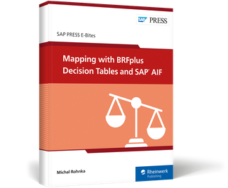 Cover von Mapping with BRFplus Decision Tables and SAP AIF