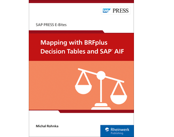 Cover of Mapping with BRFplus Decision Tables and SAP AIF