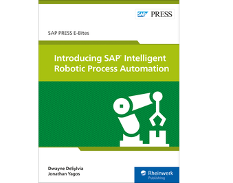 Cover of Introducing SAP Intelligent Robotic Process Automation
