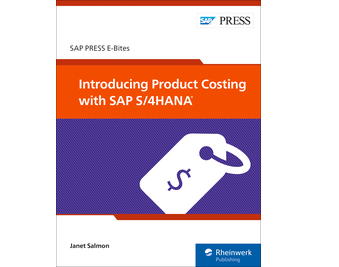 Cover of Introducing Product Costing with SAP S/4HANA