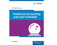 Cover of Predictive Accounting with SAP S/4HANA