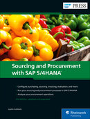 Cover of Sourcing and Procurement with SAP S/4HANA