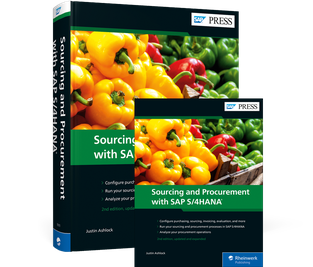 Cover von Sourcing and Procurement with SAP S/4HANA