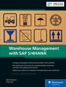 Cover von Warehouse Management with SAP S/4HANA