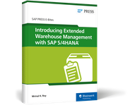 Cover von Introducing Extended Warehouse Management with SAP S/4HANA