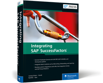 Cover of Integrating SAP SuccessFactors