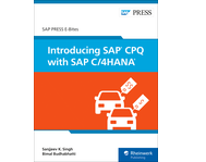 Cover of Introducing SAP CPQ with SAP C/4HANA