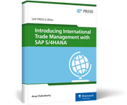 Cover von Introducing International Trade Management with SAP S/4HANA