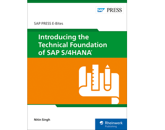 Cover of Introducing the Technical Foundation of SAP S/4HANA