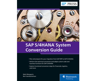 Cover von SAP S/4HANA System Conversion Guide