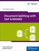 Cover von Document Splitting with SAP S/4HANA