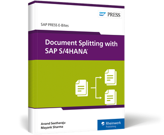 Cover of Document Splitting with SAP S/4HANA