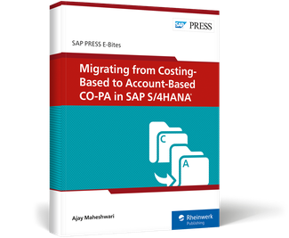Cover von Migrating from Costing-Based to Account-Based CO-PA in SAP S/4HANA
