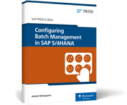 Cover von Configuring Batch Management in SAP S/4HANA
