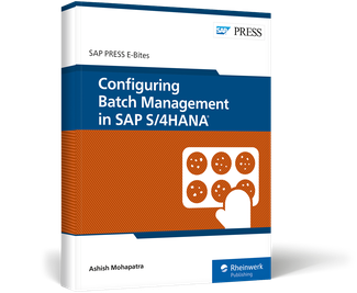 Cover of Configuring Batch Management in SAP S/4HANA