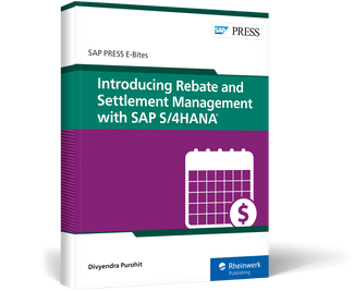 Cover of Introducing Rebate and Settlement Management with SAP S/4HANA