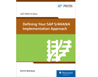Cover of Defining Your SAP S/4HANA Implementation Approach