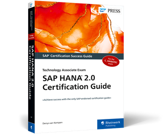 Cover of SAP HANA 2.0 Certification Guide: Technology Associate Exam