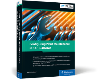 Cover of Configuring Plant Maintenance in SAP S/4HANA