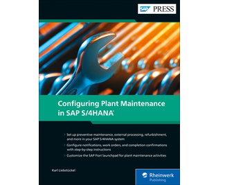 Cover von Configuring Plant Maintenance in SAP S/4HANA