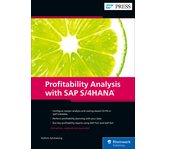 Cover of Profitability Analysis with SAP S/4HANA