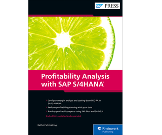 Cover von Profitability Analysis with SAP S/4HANA