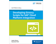 Cover von Developing Groovy Scripts for SAP Cloud Platform Integration