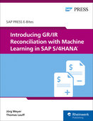 Cover of Introducing GR/IR Reconciliation with Machine Learning in SAP S/4HANA