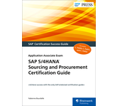 Cover of SAP S/4HANA Sourcing and Procurement Certification Guide