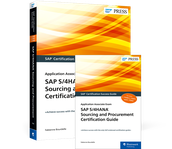 Cover von SAP S/4HANA Sourcing and Procurement Certification Guide
