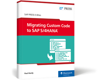Cover of Migrating Custom Code to SAP S/4HANA