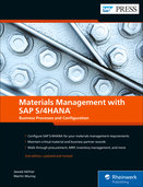 Cover of Materials Management with SAP S/4HANA