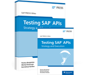 Cover von Testing SAP APIs: Strategy and Execution