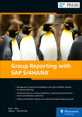 Cover of Group Reporting with SAP S/4HANA
