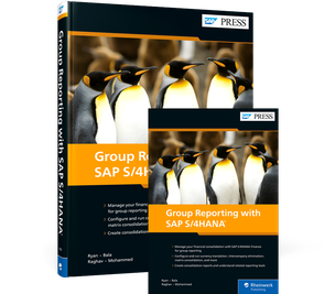 Cover von Group Reporting with SAP S/4HANA