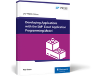 Cover of Developing Applications with the SAP Cloud Application Programming Model