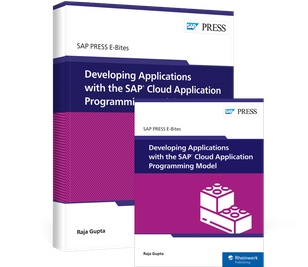 Cover von Developing Applications with the SAP Cloud Application Programming Model