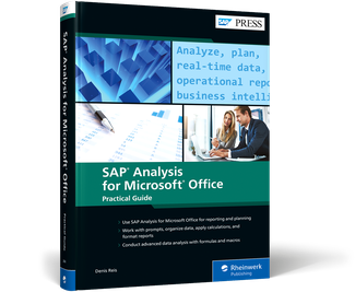 Cover of SAP Analysis for Microsoft Office—Practical Guide